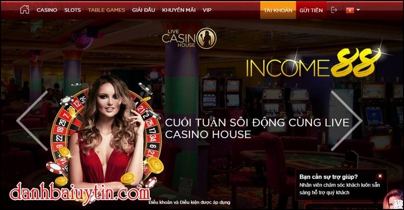 Casino trực tuyến Live Casino House - Casino online tốt nhất thế giới